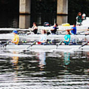 Austin Rowing Art Print