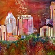 Austin Skyline IIi Art Print
