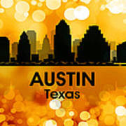Austin Tx 3 Art Print