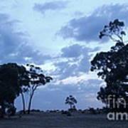 Australian Countryside Art Print