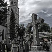 Austrian Graveyard Art Print