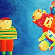 Autism Art Print