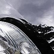 Auto Headlight 150 Art Print