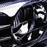 Auto Headlight 155 Art Print