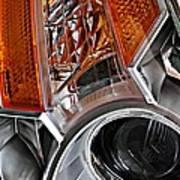 Auto Headlight 25 Art Print