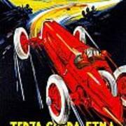 Automobile Club Catania Art Print