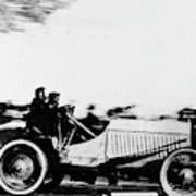 Automobile Racing, 1905 Art Print