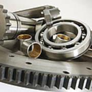 Automotive Clutch Parts Art Print
