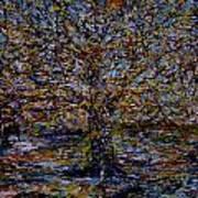 Autum In Central Park Art Print