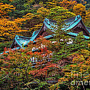 Autum In Japan Art Print