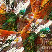 Autumn Abstract Art Print