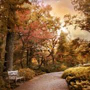 Autumn Aesthetic Art Print