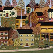Autumn Afternoon Print by Medana Gabbard