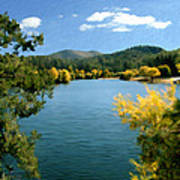 Autumn At Lynx Lake Art Print