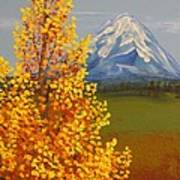 Autumn At Mt Shasta Art Print