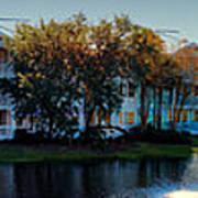 Autumn At Old Key West Resort Panorama Walt Disney World Art Print