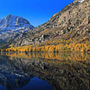 Autumn At Silver Lake Art Print