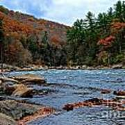 Autumn At The Youghiogheny Art Print