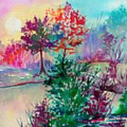 Autumn Aura Art Print