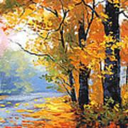 Autumn Backlight Art Print