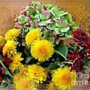 Autumn Boquet I Art Print