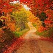 Autumn Cameo Art Print