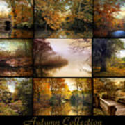 Autumn Collage Art Print