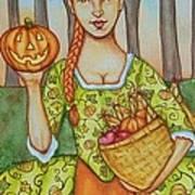 Autumn Colonial Art Print