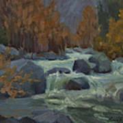 Autumn Color Blewitt Pass Art Print