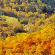 Autumn Colors In Shenandoah Art Print