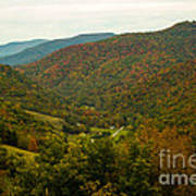 Autumn Comes To Appalachia  Art Print