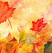 Autumn Dance Art Print