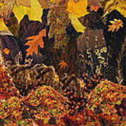 Autumn Print by Denise Mazzocco