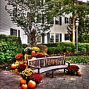 Autumn Display At The Sagamore Resort Art Print