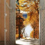 Autumn Entrance Art Print