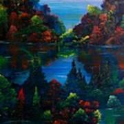 Autumn Fantasy Art Print