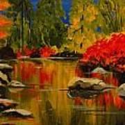 Autumn Flames Art Print