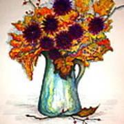 Autumn Foilage Art Print