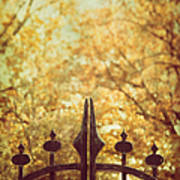 Autumn Gates Art Print
