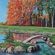 Autumn Glory At The Arboretum Art Print