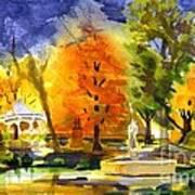 Autumn Gold 2 Art Print