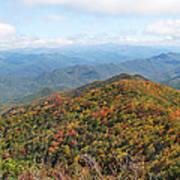 Autumn Great Smoky Mountains Art Print