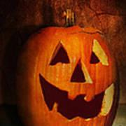 Autumn - Halloween - Jack-o-lantern  Art Print by Mike Savad