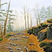 Autumn Hike Art Print