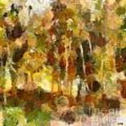 Autumn Impression 1 Art Print