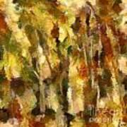 Autumn Impression 2 Art Print