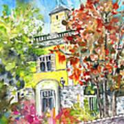 Autumn In Bergamo 02 Art Print