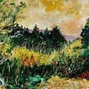 Autumn In Bois Jacques  Art Print