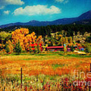 Autumn In Colorado Art Print