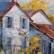 Autumn In La Garde Art Print
